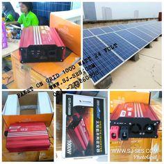 🎉Paket on grid 1000 watt 24 volt🎊🌱      Terdiri dari 1 buah inverter 1000 watt 24 volt + 4 buah solar panel sertifikat bppt / sesuai dengan sni garansi 25 tahun .. @14.350.000 / paket. harga blm termasuk bracket, kabel, packing dan installasi.  Untuk info selanjutnya, silahkan kunjungi n hubungi kami melalui : Website : www.sj-ses.com Hp : 085945407315 Telp : 021-22260858 Email : marketing02.sahatjaya@gmail.com
