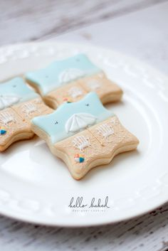 a summer day cookie