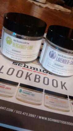 Schmidt's natural deodorant #madeinusa #madeinOregon #vegan