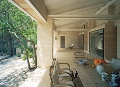 Jørn Utzon - Can Lis, the architect's own vacation home in Majorca, 1973.