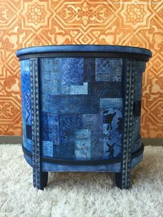 Color Trend: 8 Indigo Blue Stencil Décor Ideas | Royal Design Studio