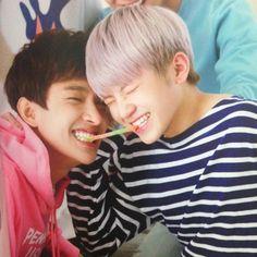 DK & Woozi #so cute || Seventeen TENASIA
