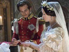 A Jovem Rainha Vitória  casamento