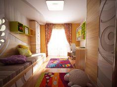 Original Children's Bedroom Design Showcasing Vibrant Colors and Textures