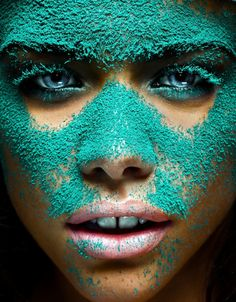 I don't know why but I think this is just cool... I want to play with paint powder!