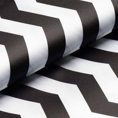 """Jazzed Up Chevron Fabric Bolt 54""""x10Yards Black/White    The Chevron Style simply brings that energy into any room or event! The up and down motion symbolizes waves, lively music, a upbeat mood.pretty much all things positive. Not to mention, the combination of two lovely colors definitely doesn't fail to please the eyes and make people keep snapping photos or your chevron inspiration! Remember, there's always room to Jazz things up!"""