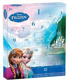 L'indispensable #calendrier de l'avent pour les petites filles ! #calendrierdel'avent #reinedesneiges
