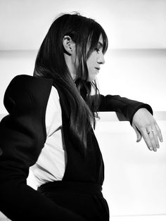 Charlotte Gainsbourg /  Bryan Adams photography - Zoo