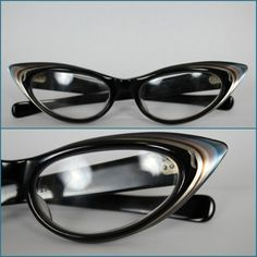Vintage 50s Cat Eye Reading Glasses Multi by ForeverAfterVintage, $150.00