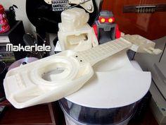 The Makerlele - MK1 by EricJDurwoodII http://thingiverse.com/thing:34363