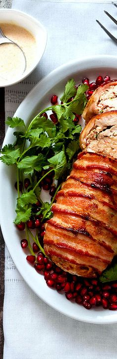 Roasted Bacon Chicken Breast | Chicken Recipes | Dinner Recipes