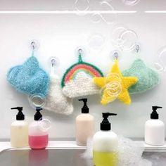 Rico Creative Bubble - Die Wolle mit der ihr einen individuellen Spülschwamm häkeln könnt