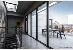 現代風陽台 Balcony Design, Design Case, Divider, Room, Furniture, Home Decor, Style, Bedroom, Swag