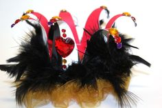 Queen of hearts crown Alice in wonderland house of by partydreams, $20.00