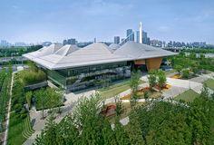 Nanjing Eco-Tech Island Exhibition Center / NBBJ + Jiangsu Provincial Architectural Design & Research Institute