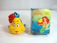 McDonalds Flounder Christmas Ornament Little Mermaid Vintage #McDonalds #Christmas