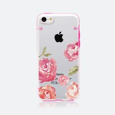 iPhone 5C case iPhone 5 / 5S case halftransparent by Uniqstyle, $9.95