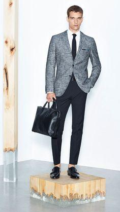 Casual Suit, Sport Casual, Hugo Boss Man, Elegant Chic, Classic Man, Modern Man, Mens Suits, Preppy, Work Wear