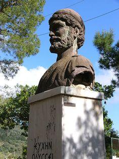 Bust of Odysseus - Ithaca, Greece