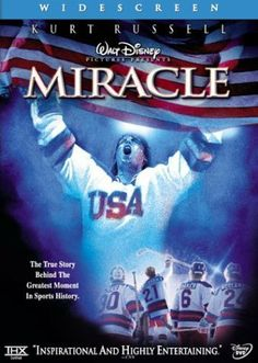 Miracle is the story of the US Olympic Ice Hockey team as they went up against the Soviet Union during the height of the cold war.