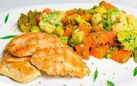 Reeducação alimentar – Como fazer, Cardápio para emagrecer 8 kg em um mês