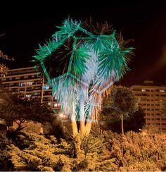 Alameda Llum by Javier Riera Playground Design, Biltmore Estate, Weird Art, Science Nature, Lighting Design, Sculptures, Fair Grounds, Creative, Photography