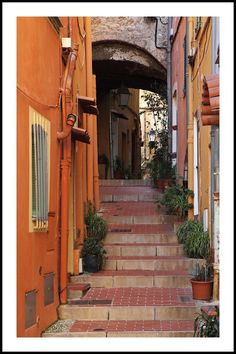 Alley - staircase, a photo from Provence-Alpes-Cote-dAzur, South | TrekEarth