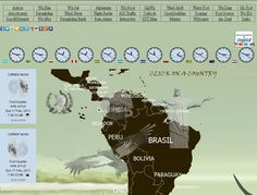 weather forecast in Central and South America