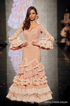 Traje de flamenca Aurora Gaviño