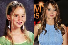 Jennifer Lawrence got discovered while vacationing in nYC with her family. A stranger took her picture and asked for her moms phone number. The next day they asked for a screen test and she landed some parts in commercials and small parts that soon progressed.