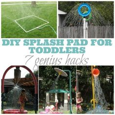 DIY Splash Pad For Toddlers: 7 Genius Hacks