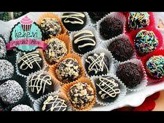 Bir Kekten 60 Kişilik İkramlık Popkek Nasıl Yapılır? 3 Malzemeli   Ayşenur Altan Kek Tarifleri - YouTube