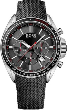 Hugo Boss Watch Driver Chrono Sport Mens #bezel-fixed #bracelet-strap-synthetic #brand-hugo-boss #case-material-steel #case-width-46mm #chronograph-yes #classic #date-yes #dial-colour-black #gender-mens #movement-quartz-battery #official-stockist-for-hugo-boss-watches #packaging-hugo-boss-watch-packaging #style-sports #subcat-diver-chrono #supplier-model-no-1513087 #warranty-hugo-boss-official-2-year-guarantee #water-resistant-50m