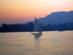 Sailing at Luxor.