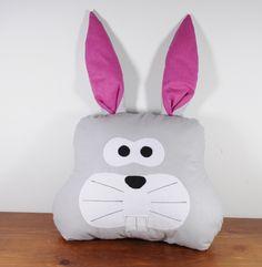 Poduszka królik zając pillow rabbit  FB/ PoszyjemyZobaczymy