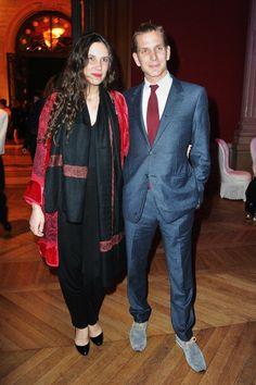 Tatiana Santo Domingo e Andrea Casiraghi