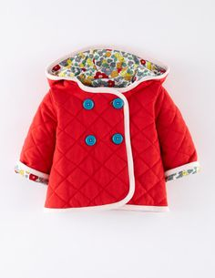 Quilted Jersey Jacket | Baby Boden