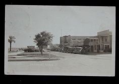 This is probably Park Avenue, long before the fountain was built. Freeport Texas, Brazoria County, Visit Texas, Lake Jackson, Texas History, My Childhood Memories, Park Avenue, Old Town, Fountain