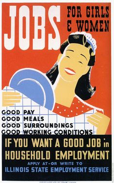 The New Deal ~ WPA Art Project Poster.  This is a recurring widget when presenting data about pay equity gaps in various professions.