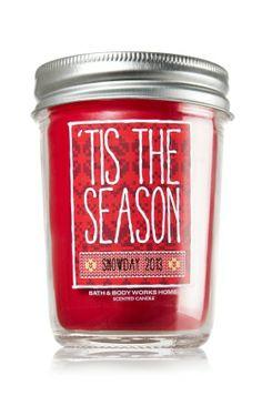 'Tis the Season 6 oz. Mason Jar Candle   - Slatkin & Co. - Bath & Body Works