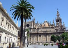 UNESCO. The Cathedral of Saint Mary of the See, better known as Seville Cathedral, is a Roman Catholic cathedral in Seville (Andalusia, Spain). It is the largest Gothic cathedral and the third-largest church in the world.