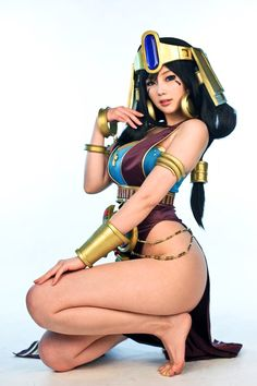 Excellent Nefertiti Cosplays by Doremi For Civilization Online - MMORPG News - MMOsite.com