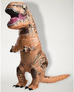 T-Rex Costume | T-Rex Inflatable Costume - Spencer's