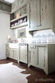 Cypress Kitchen Cabinets   Ashley Gilbreath Interiors   Montgomery Alabama   Southern Style Kitchen
