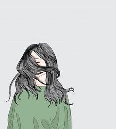 Royalty-Free Vector Images by (over Cute Girl Drawing, Cartoon Girl Drawing, Girl Cartoon, Little Girl Illustrations, Illustration Girl, Cover Wattpad, Girly Drawings, Cute Girl Wallpaper, Sad Art