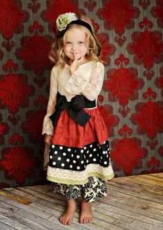 Adorable! Little church outfit (: