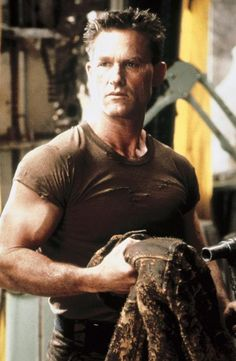 "Kurt Russell in ""Soldier"""