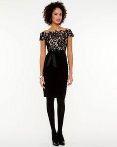 Lace Cocktail Dress - possible grad dress