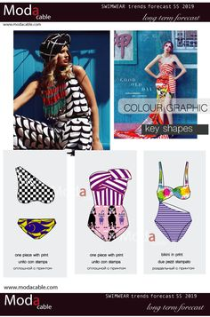 Swimwear trends SS 2019 only at www.modacable.com....follow us for more!!!