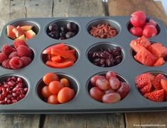 Healthy Red Snack Day - Kids Buffet | Healthy Ideas for Kids